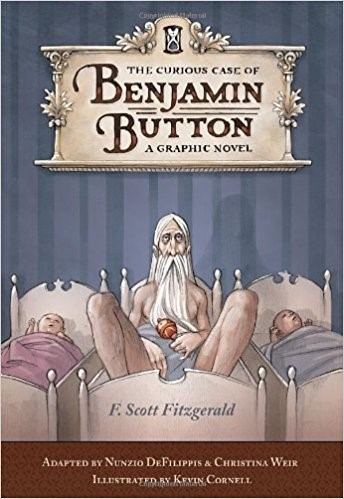 Front Cover of The Curious Case of Benjamin Button by F. Scott Fitzgerald