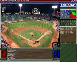 A screenshot of the 2018 Strat-O-Matic computer baseball game.